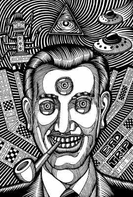 professor bad trip - bob (church of subgenius)